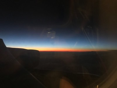 Near London some 30,000 ft up