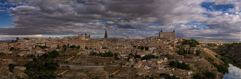 El Greco viewpoint, Toledo