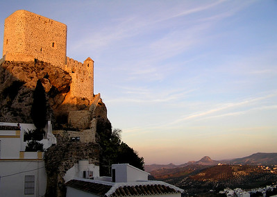 Moorish castle, Olvera, Spain