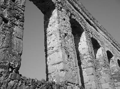 Roman aqueduct, Merida,Spain