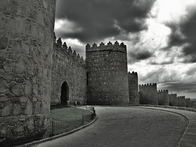 Fortress walls of Avila