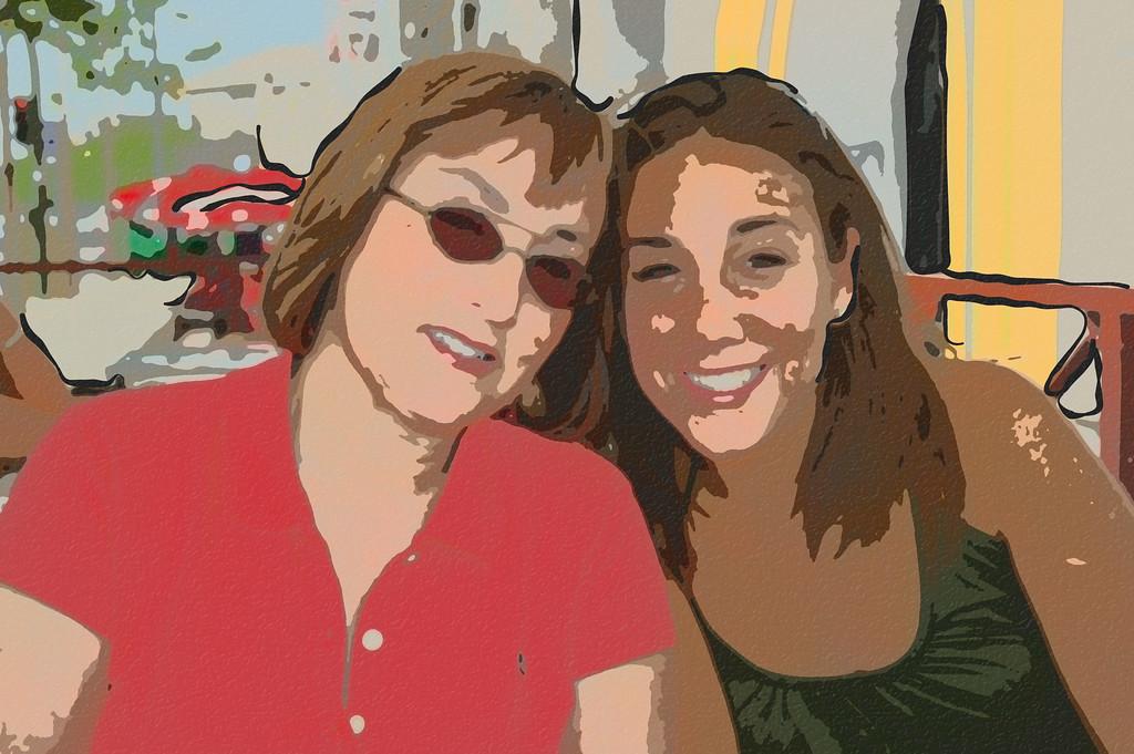 Rose and Jennifer, Sevilla, Spain