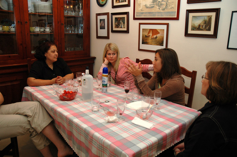Carmella, Katie, Jen and Rose