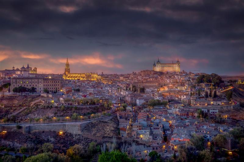 Night, Toledo