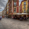 Cafe In Small Square, Madrid