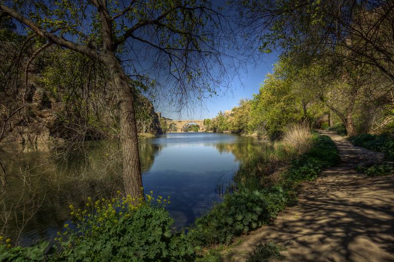 Walkway, Tagus River, Toledo
