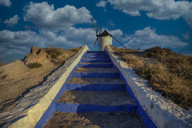 Windmill Steps, Consuegra