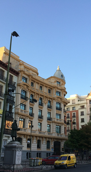 Our hotel in Madrid, Innside Genova. Nice boutique hotel close to public transport and easy walking distance to Retiro Park and popular museums.