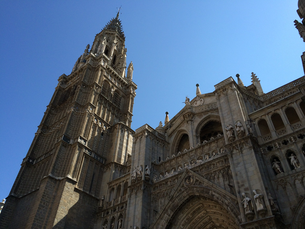 Gothic and baroque style cathedral.