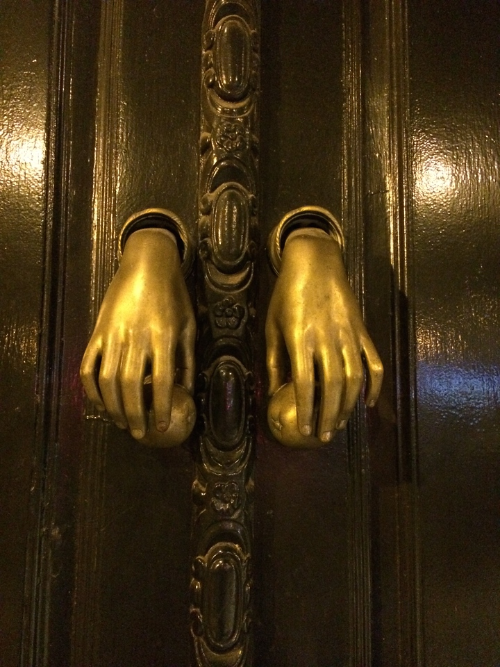 Back to Seville. Hmm door knockers?