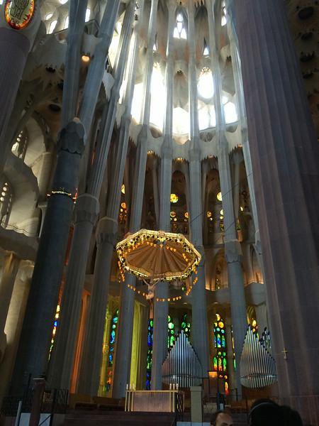 The altar...