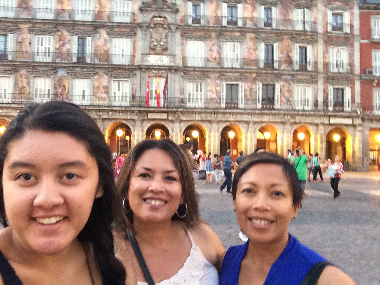 Walked through the famous Plaza Mayor before heading to our flamenco show.