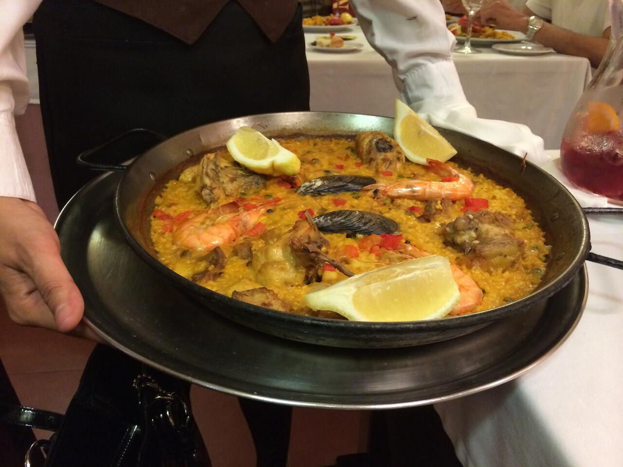 Delicioso Paella!