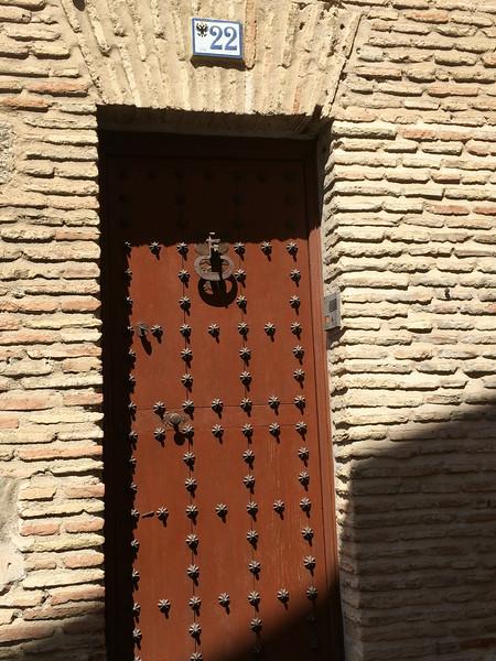 One of many many interesting doors.