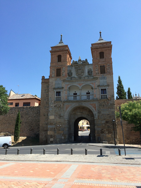 Puerta de Cambron, one of the oldest gates in town said to be from the muslim period, around 1500's.