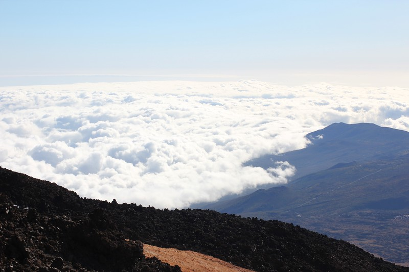 Mount Teide from the top