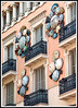 Barcelona - The Umbrella House on the Ramblas ... typical of Modernisme.