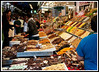 Barcelona - La Boqueria Market w hich is just off of the Ramblas.