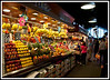 Barcelona - La Boqueria Market which is just off of the Ramblas.