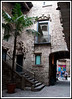 Barcelona - A typical small courtyard in the neighborhood of our hotel.