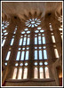 Barcelona Cathedral. This is a five frame HDR image. The yellow color cast is do to the indoor artifical lighting.