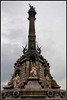 Barcelona - The Columbus Monument at the end of the Ramblas near the harbor.