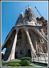 Barcelona - Gaudi's Sagrada Familia (Holy Family Chruch).