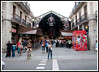 Barcelona - Entrance La Boqueria Market which is just off of the Ramblas.