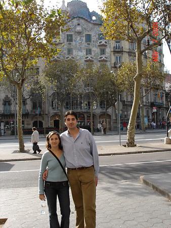 2004_11_06-08 Trip to Zaragoza and Barcelona with Mateo