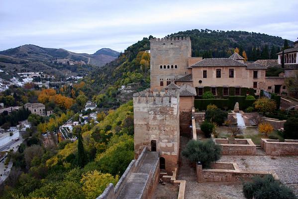 Alhambra - Views from the Alcazaba