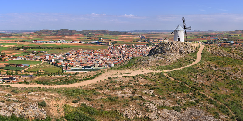 Windmill and Consuegra City