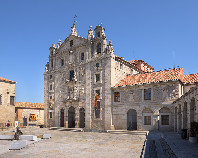 Church at Teresa of Ávila's birthplace