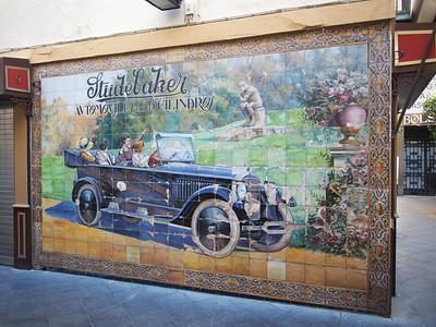Studebaker advertisement, Seville, 1924