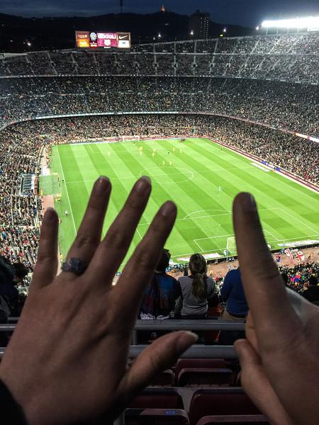 nou camp barcelona getafe