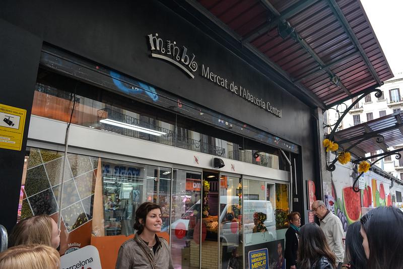 devour barcelona food tour market