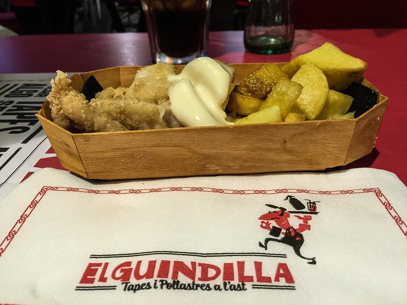 fish and chips el guindilla barcelona