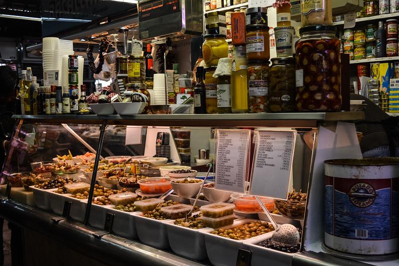 barcelona food tour olives