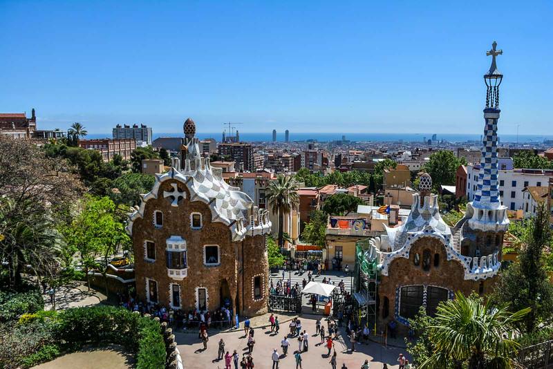 barcelona getaway park guell