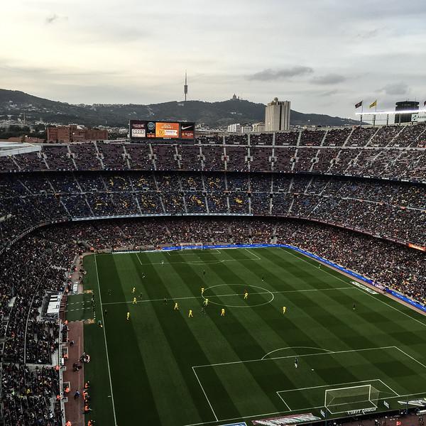 nou camp barcelona spanish football