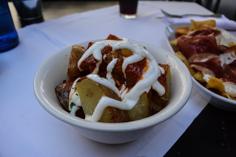 patatas bravas best tapas in barcelona