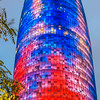 4,500 LED Lights at Torre Agbar