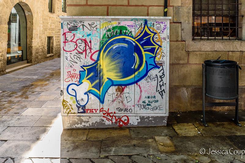 Graffiti on the Power Box