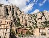 Benedictine monastery of Montserrat and cave of St. Joan