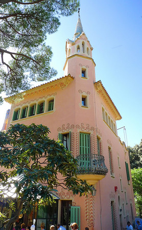 Gaudi's home in Park Guell