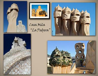 """Casa Mila or """"La Pedrera"""""""