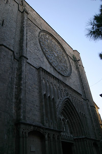 Facade of the Iglesia de Santa Maria del Pi