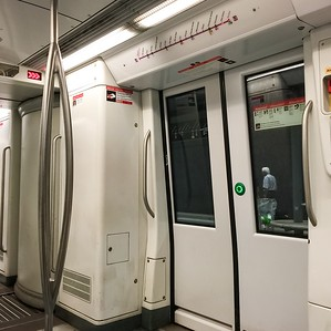 Barcelona-Metro-Train-Door