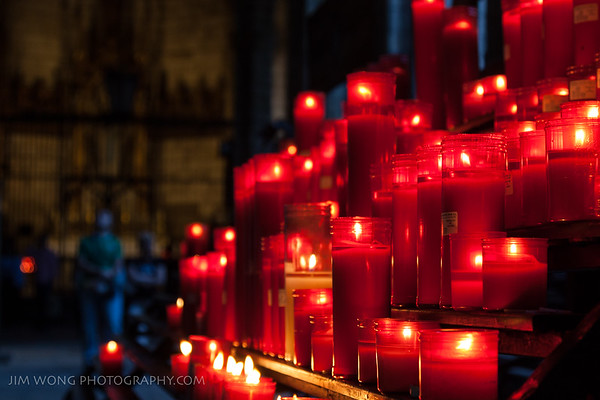 Candles, Catedral de Barcelona