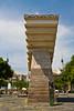 The Catalunya Francesc Macia monument in Barcelona, Spain.