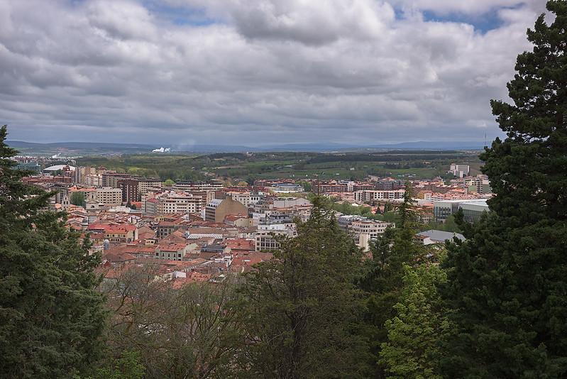 Burgos from Mirador